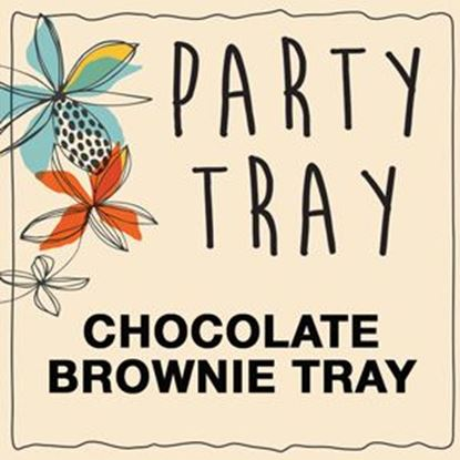 party_tray_chocolate_brownie_tray